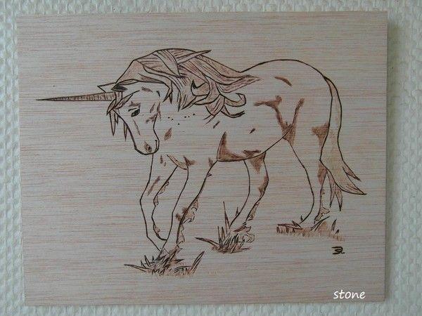 Pyro chevaux - Pyrogravure sur bois professionnel ...